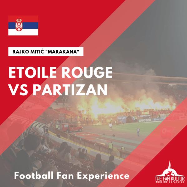 derby Belgrade Etoile Rouge Partizan