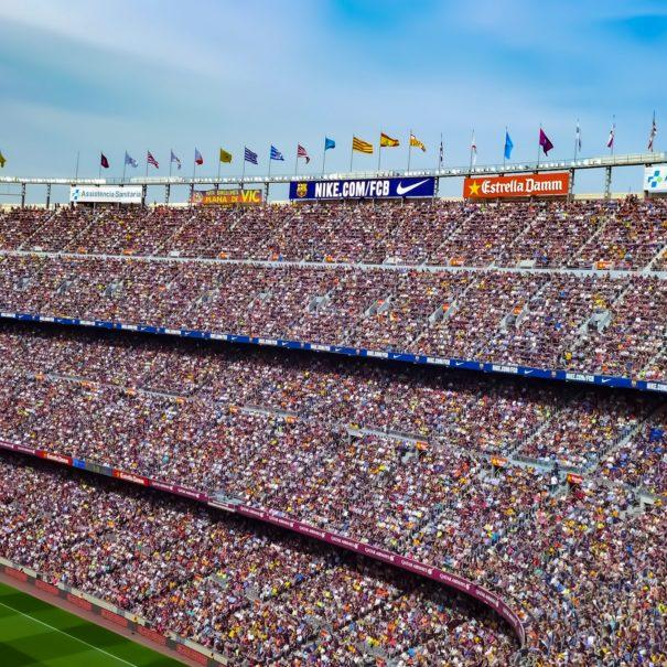 Ambiance Camp Nou FC Barcelone