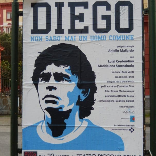 Ambiance Napoli Naples Diego Armando Maradona