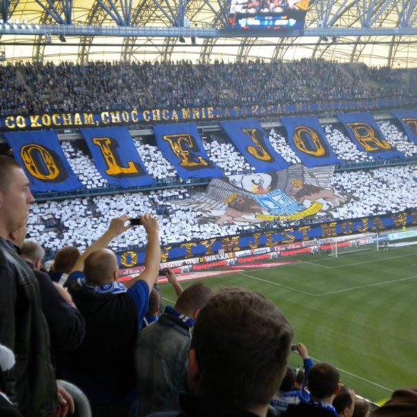 Ambiance Lech poznan fans