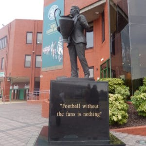 Glasgow Celtic Football without the fans is nothing