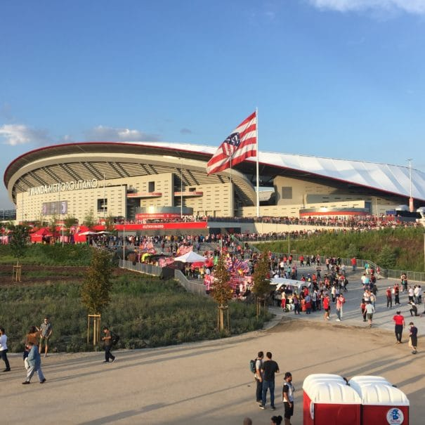 Ambiance Atlético de Madrid Wanda Metropolitano